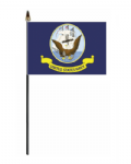 U.S. Navy Hand Flag - Small.